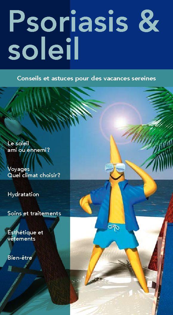 brochure psoriasis et soleil