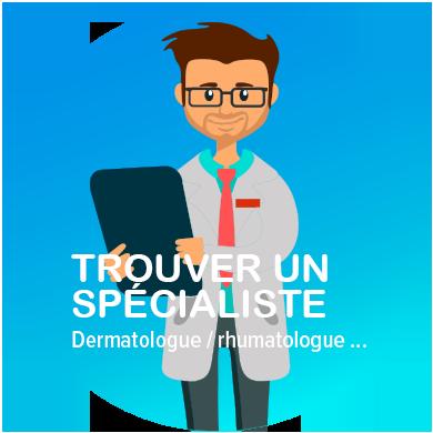 Psoriasis-contact, trouvez un spécialiste, dermatologue, etc...